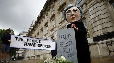 Theresa May: Wer den Schaden hat, braucht für den Spott nicht zu sorgen.