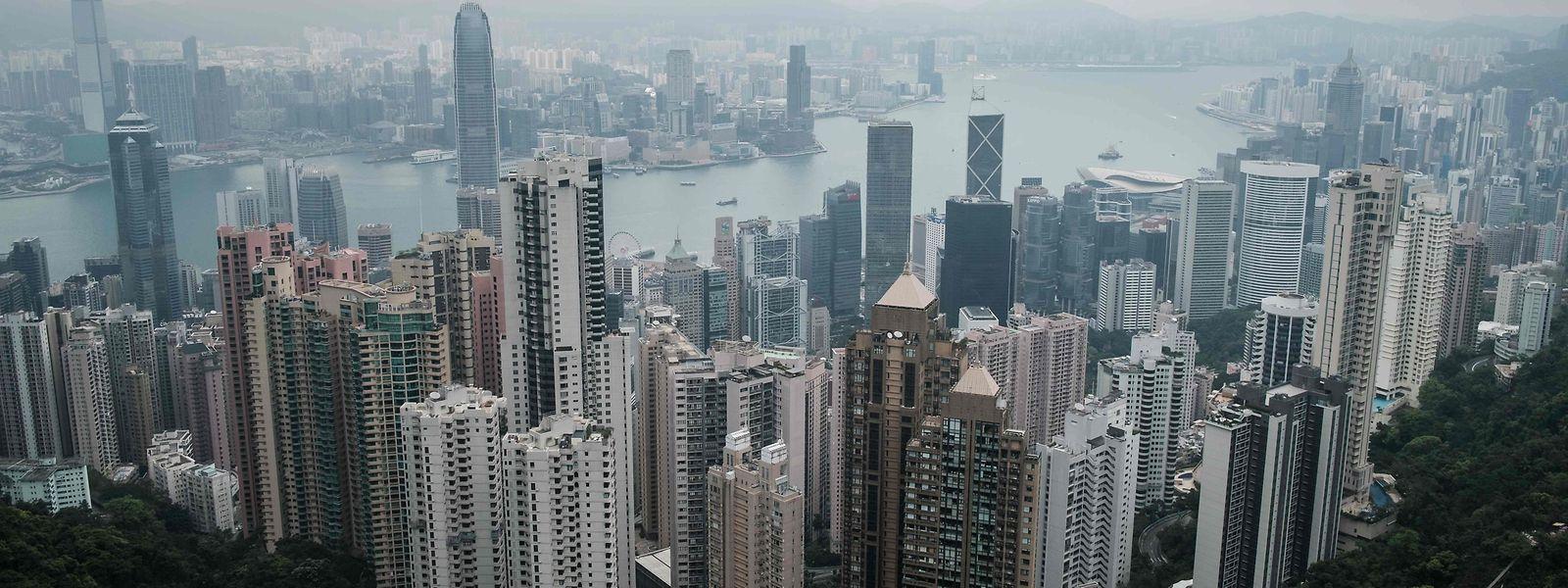 Trump will den Vorzugsbehandlungen für Hongkong einen Riegel vorschieben.