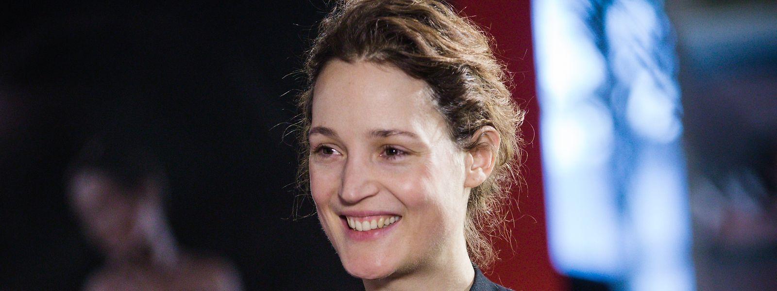 Vicky Krieps stand den Luxemburger Journalisten Rede und Antwort.