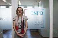 ITW avec Tine Larsen, préseidente de la commission nationale pour la protection des données, photo : Caroline Martin