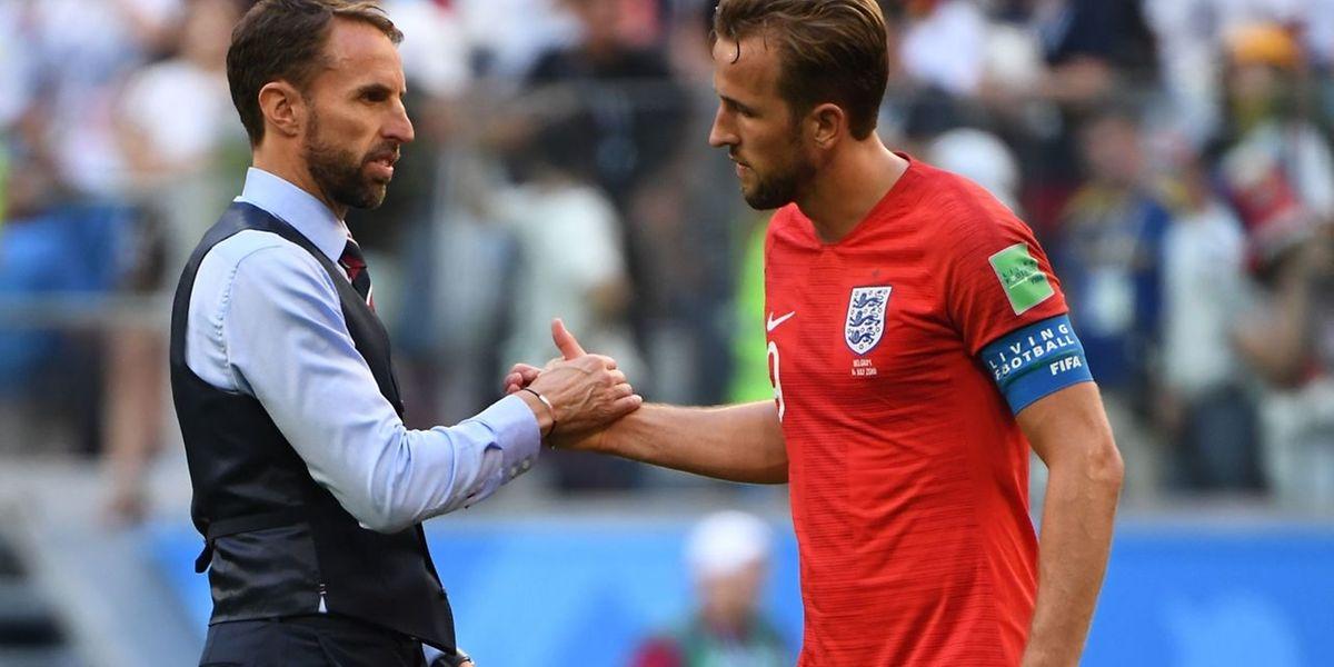 Gareth Southgate a félicité Harry Kane.