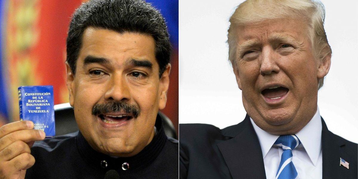 Trump lehnte ein Telefongespräch mit Venezuelas Staatschef Maduro ab.