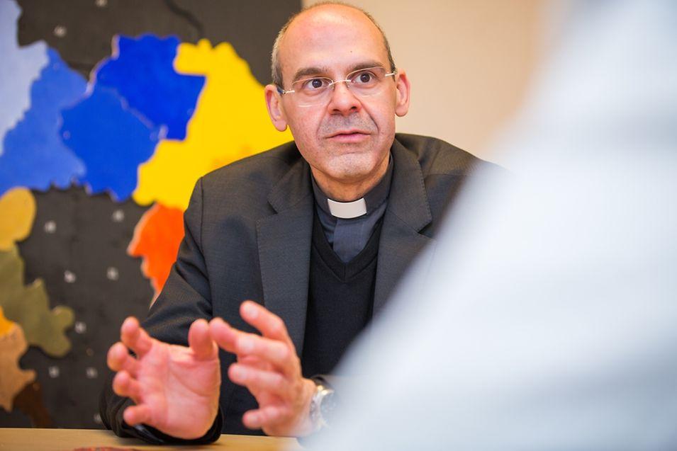 """Tom Kerger glaubt, dass der ganze Prozess etwas in Gang gesetzt hat, """"von dem das kirchliche Leben nur profitieren kann""""."""