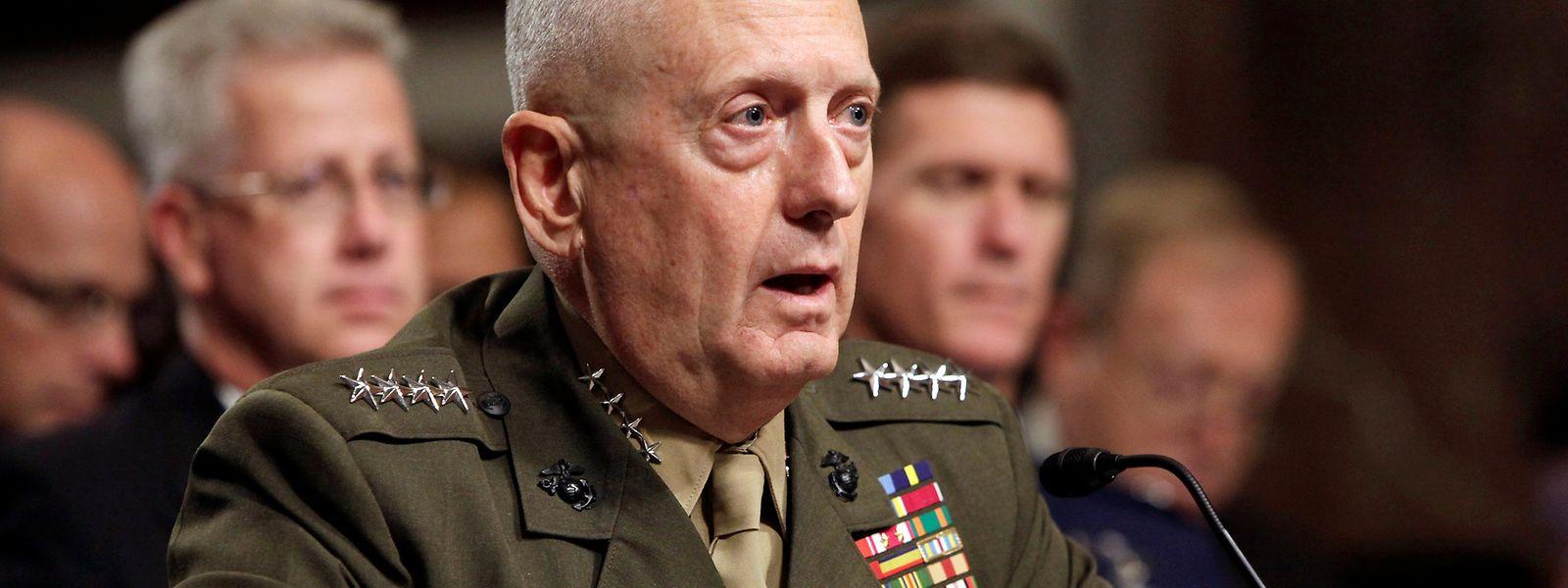 General James Mattis beginnt nach seiner Pensionierung noch eine zweite Karriere als Verteidigungsminister.