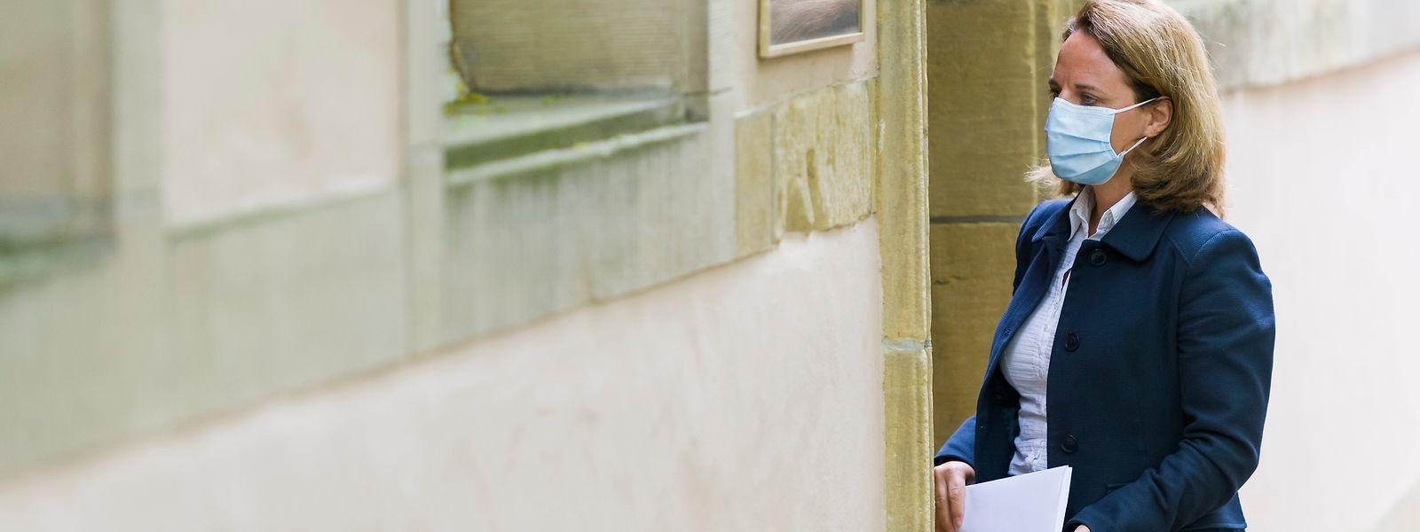 Als Familienministerin musste Corinne Cahen die Besuchsmöglichkeiten in den Alten- und Pflegeheimen wegen der Ansteckungsgefahr für Wochen verbieten.