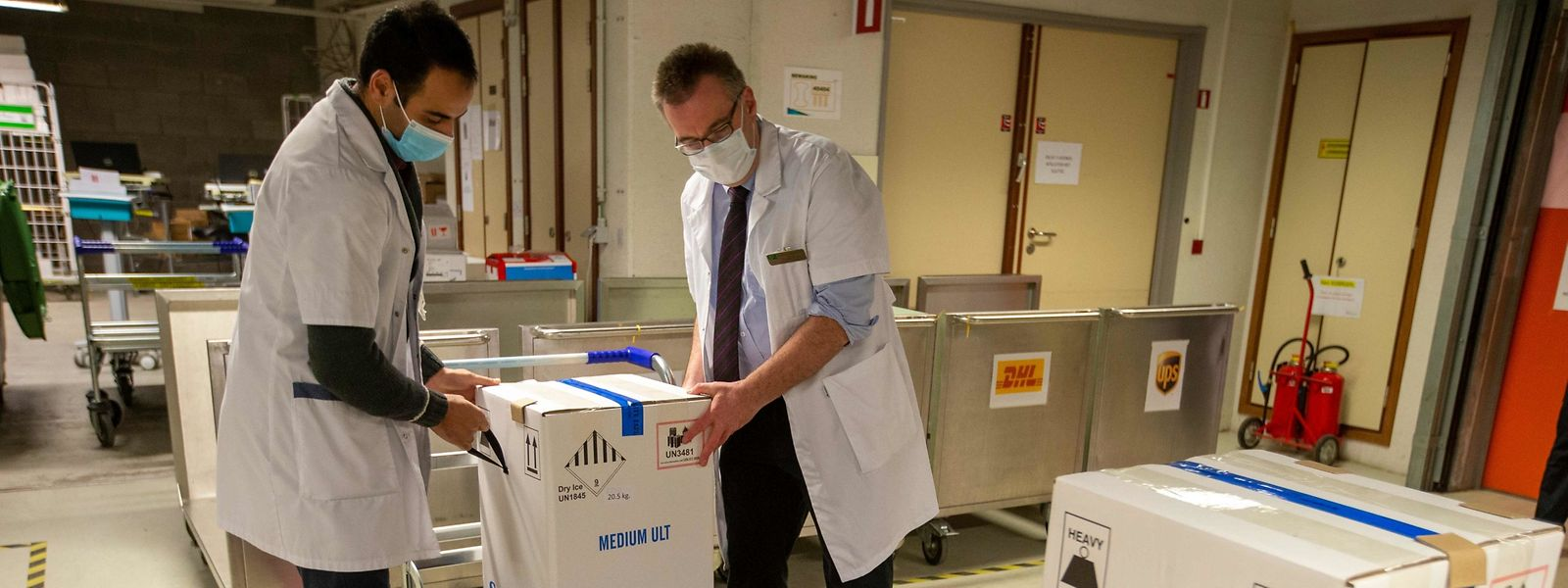 Du plus grand au plus petit Etat de l'Union européenne, le premier lot de vaccins livré samedi était identique en nombre de doses.