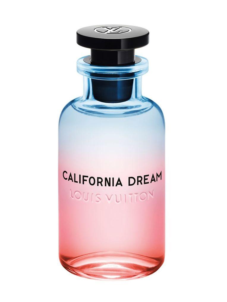"""Mit spritziger Mandarine auf einer sanften Moschusbasis: Eau de Parfum """"California Dream"""" von Louis Vuitton, 100 ml um 225 Euro."""