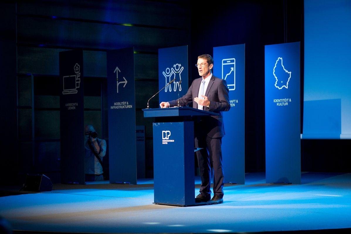 DP-Fraktionschef Eugène Berger zog eine positive Bilanz der parlamentarischen Arbeit.