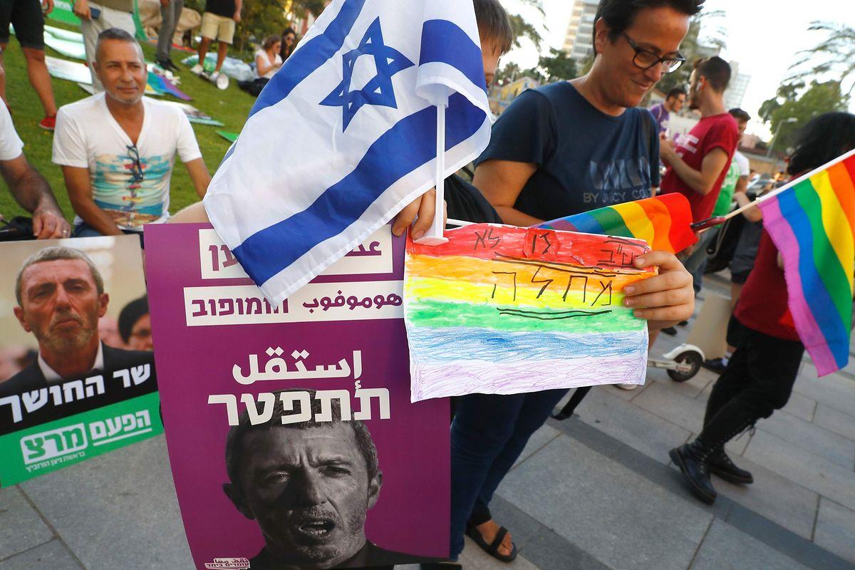 Des manifestations ont eu lieu à Tel Aviv pour demander le départ du gouvernement de Rafi Peretz.